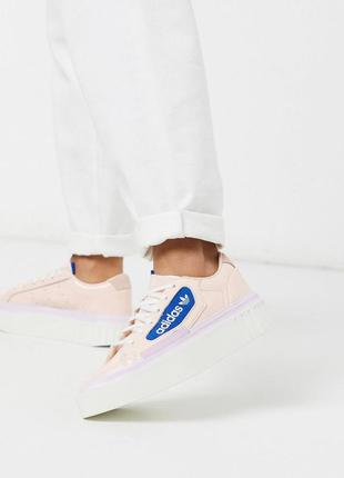 Кроссовки кеды adidas originals hypersleek оригинал