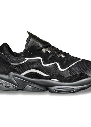Кроссовки мужские adidas ozweego, black