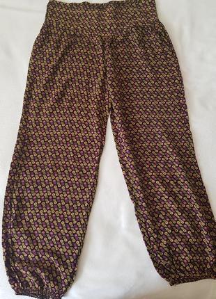 Комфортные штанишки из натуральной ткани,  вискоза.