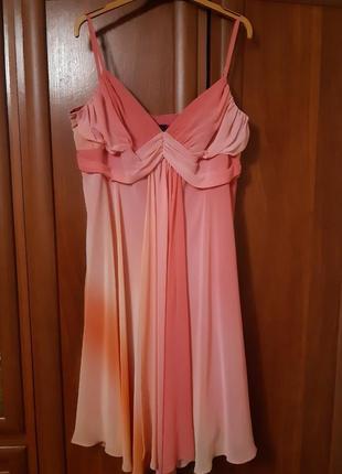 Новое платье на бретелях