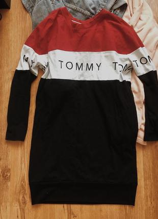 Платье черное tommy hilfiger ,оригинал,платье туника