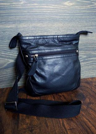 Osprey london кожаная сумка кросс боди 100% кожа