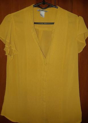 Миленькая шифоновая блузка.