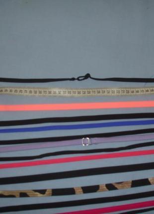 Бретельки на купальник сдельный раздельный бандо бретели для купить съемные шлейки на шею