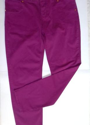 Яркие брюки джинсы хороший размер ted baker