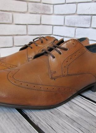 Кожаные туфли topman
