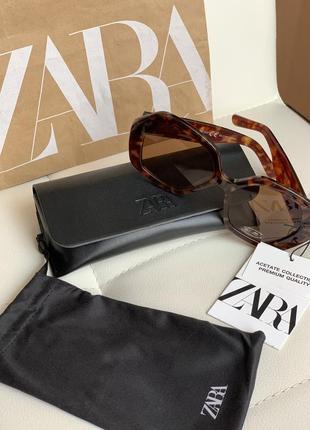 Zara нові сонцезахисні окуляри 100% захист від уф-променів
