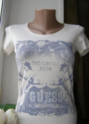 Guess футболка стразы хлопок xs-s размер оригинал