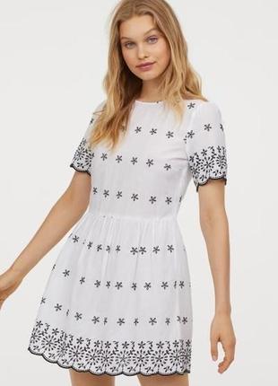 Новое хлопковое платье h&m.