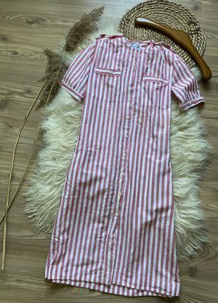Burberry's платье льон винтаж