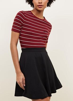 Базовая юбка клеш, new look, размер 12-14