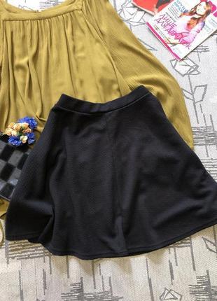 Базовая юбка клеш, new look, размер 12-147 фото