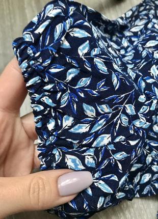 Скидка 19-21.06 легкое летнее платье миди с распоркой внизу в нежный приятный принт цветов