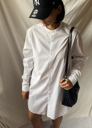 Хлопковое платье рубашка asos