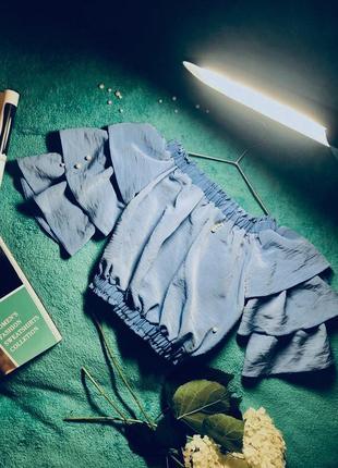 Блуза топ с рукавом фонарик от river island
