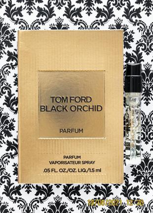 Парфюм tom ford black orchid parfum духи - пробник 1.5 мл