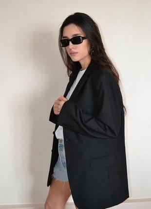 Идеальный шерстяной пиджак/жакет оверсайз