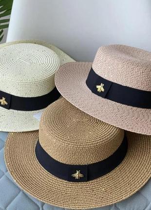 Стильная шляпа/канотье 🤩
