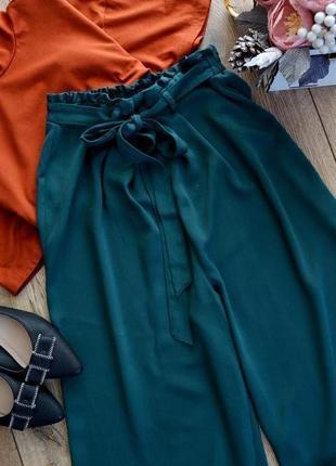 Primark класні кюлоти з поясом.літні брюки.розмір м3 фото