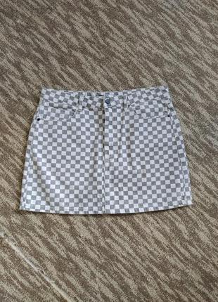 Классная джинсовая юбка 50-52 размер