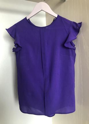 Фіолетова блуза