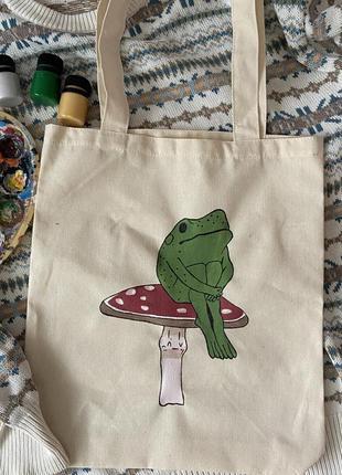 Шопер з жабкою
