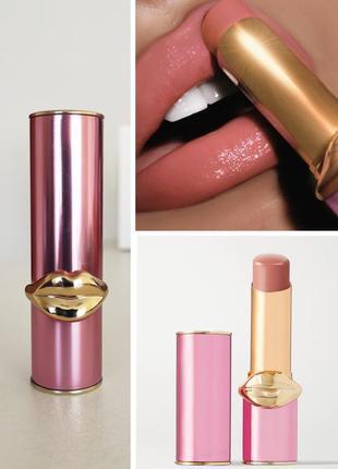 Цветной бальзам для губ pat mcgrath divinyl lip shine nude venus, оригинал, полноразмер!