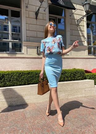 Костюм двойка, юбка + блузка!