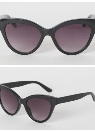 Солнцезащитные очки н&м кошачий глаз