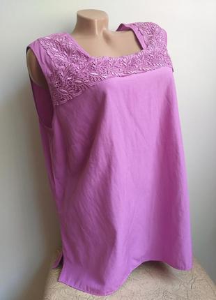 Блуза. туника. футболка. розовая, фуксия, сиреневая, фиолетовая.