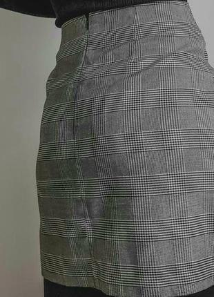 Клетчатая юбка от new look