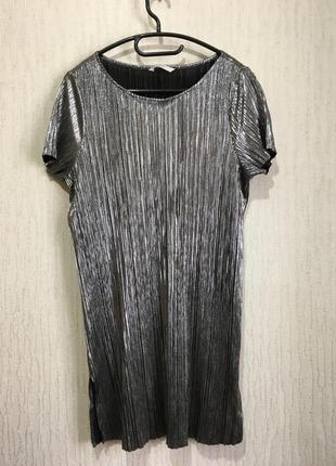 Неймовірна блискуча  пряма сукня george