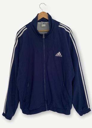Винтажная куртка олимпийка свитшот кофта adidas мужская оригинал