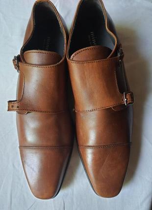 Италия! новые туфли minelli 44 р. полностью мягкая натуральная кожа 129 эвро!