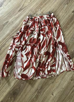Легкая трендовая юбка mango