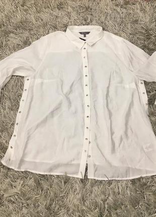 Платье рубашка (удлинённая блуза)