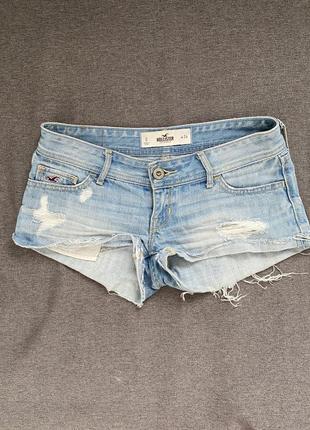 Шорты джинсовые фирмы hollister