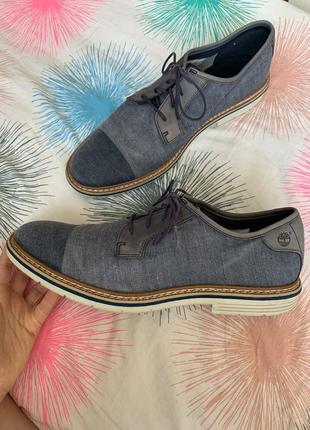 Суперские ботинки туфли мужские 💙