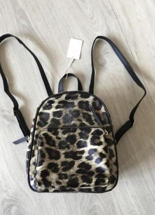 Рюкзак леопардовый primark