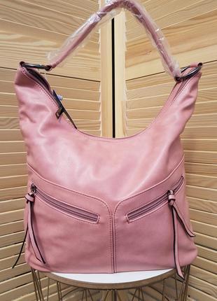 Скидка! красивая удобная розовая сумочка мешок