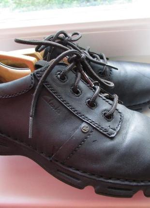 Туфли оригинальные clarks activ air кожа мужские длина по стельке 30 см