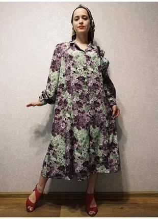 Платье винтаж ❤️ большой размер! батал! xxxl