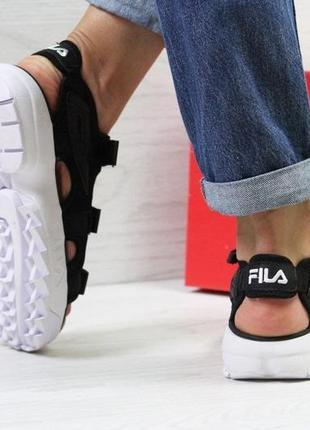 Женские спортивные босоножки,сандалии на летo fila