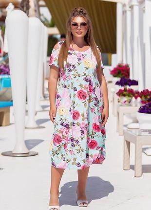 Платье р 52-58