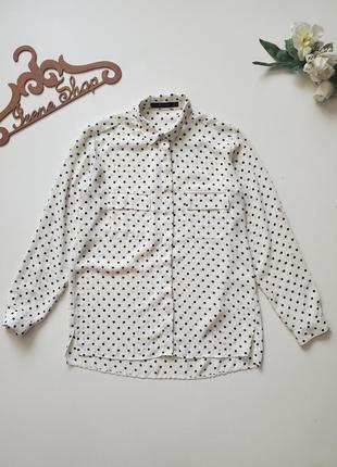 Фирменная рубашка блузка zara ,размер xs