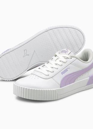 Кожаные женские кроссовки puma carina