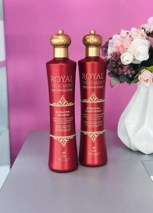 Зволожуючий набір для волосся - chi royal treatment hydrating