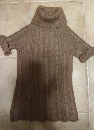 Гольф свитер туника mango размер s-m
