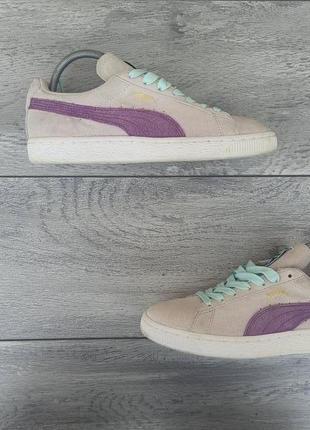 Puma suede женские замшевые кроссовки оригинал 37р