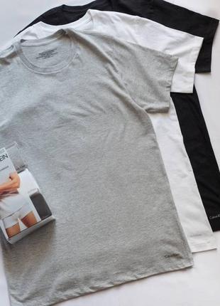 Мужская футболка calvin klein оригинал набор 3шт